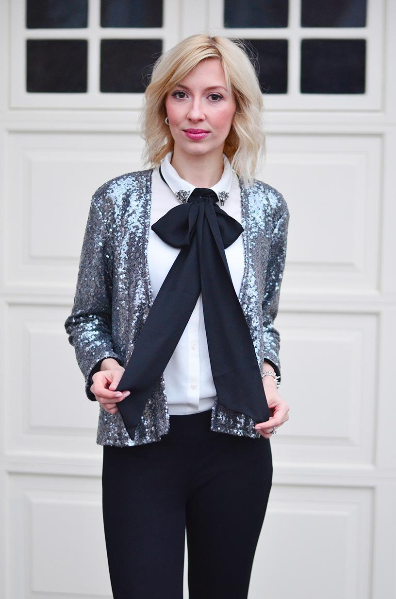 Sequin Blazer Outfits