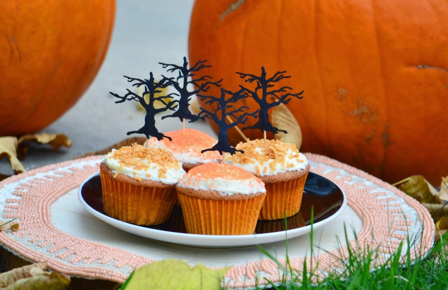 Food, Cook, Cooking, fast cooking, Halloween, Indigo Kitchen, Crate and Barrel, Fall, fast cooking, Breakfast, Breakfast bakes, Cupcakes, Baking,