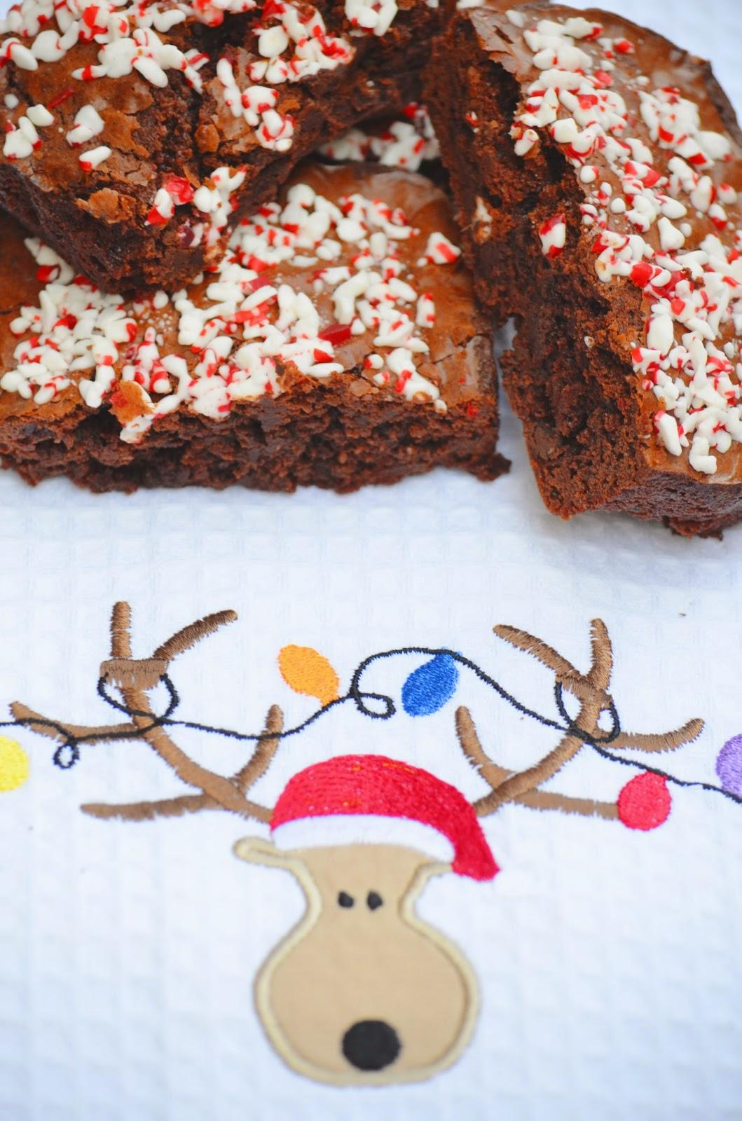 Cook, Food, Cooking, Bake, Breakfast bakes, Baking, Indigo Kitchen, Brownie, Christmas, Winter, Christmas dessert, Dessert,