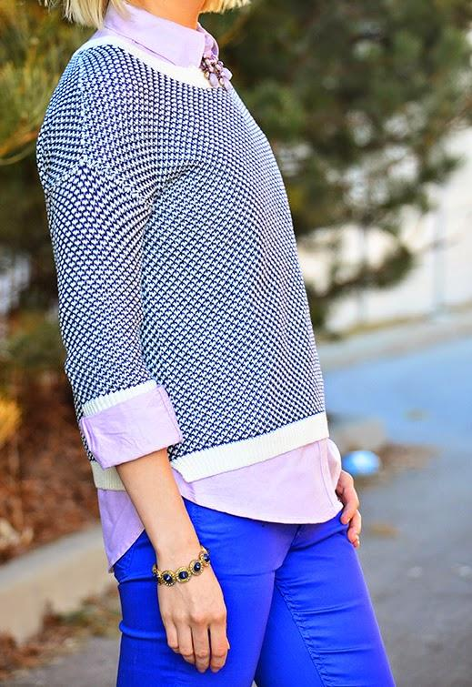 Style, OOTD, blue outfit, Benevolent Jewels, Smart Set, Jow Fresh, H&M, aldo, preppy, preppy style, spring style, Spring,
