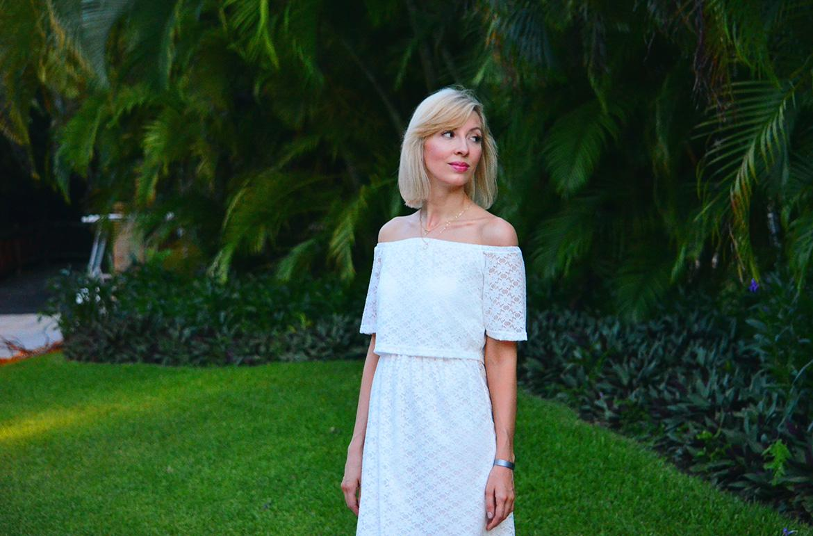 Style, ootd, resort style, summer style, White dress, lace dress, Asos, forever21, OldNavy, lace dress style, white summer dress