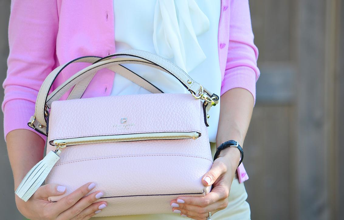 Style, OOTD, office style, office wear, pastel, pastel colors, J. Crew, J. Crew style, J. Crew factory, Loft, Jacob, Kate Spade, Kate Spade bag, Asos, preppy, preppy style,