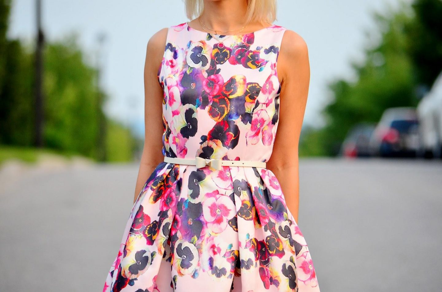 Style, OOTD, floral dress, floral print, flare dress, Romwe, Kate Spade, Asos, forever21, ladylike, kate spade style, flare dress, romwe dress