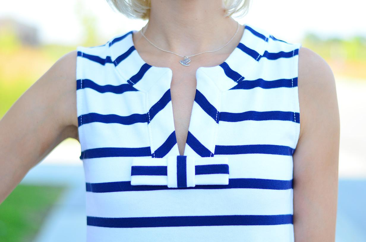 OOTD, Style, Kate Spade, preppy, preppy style, summer dress, summer style, stripe dress, stripe style, Gap, forever21, 60s style dress,