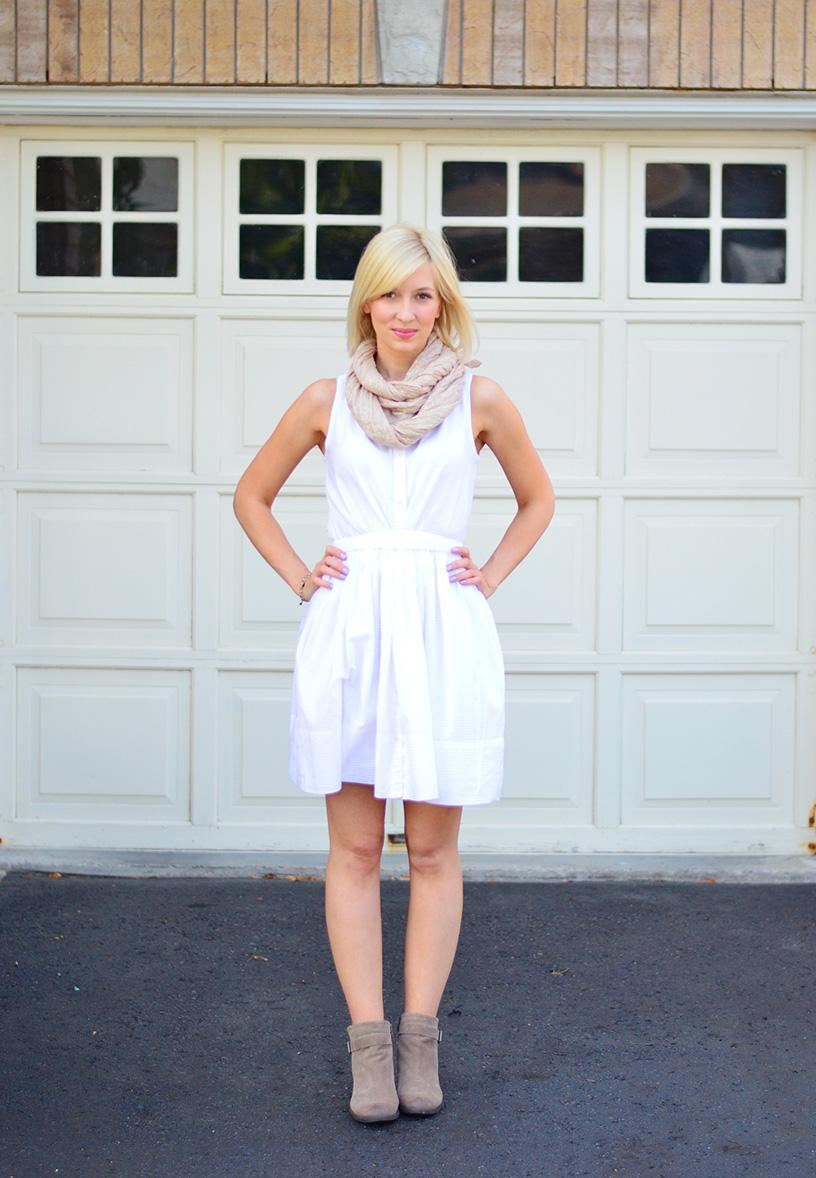 Style, OOTD, summer dress, Gap, Vince Camuto, forever21, fall style, dress transition,