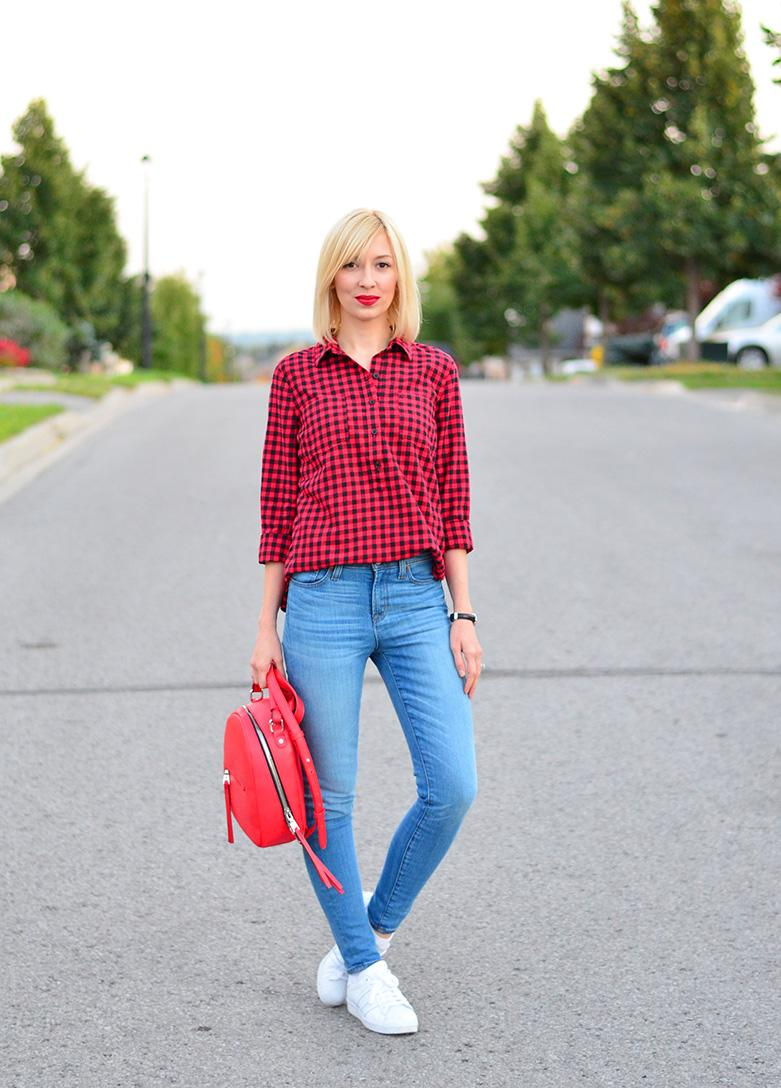 style, ootd, dress style, preppy style, fashion, fashion blogger, fashionista, style blogger, plaid, plaid shirt, buffalo plaid,