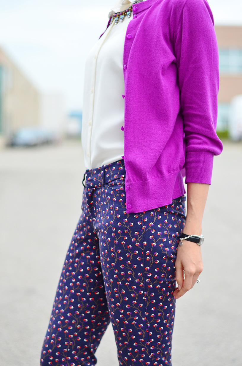 8a11d3b7a34 Printed Pants Style for the Office Wear