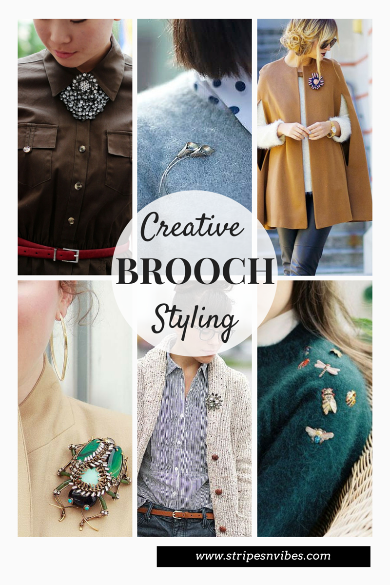 style, fashion, brooch, Thursday Inspiration, Pinterest, brooch style, canadian blogger, toronto blogger,