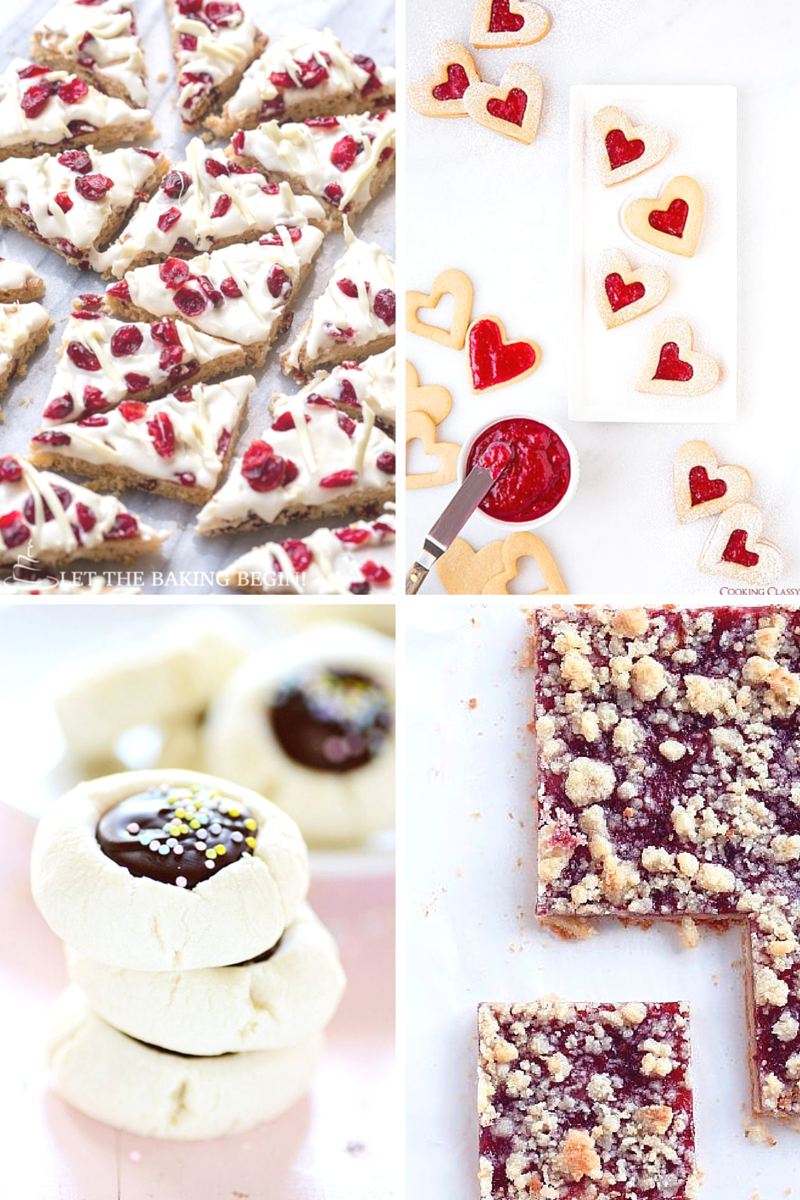 cranberry bliss bar, linzer cookies, christmas cookies, thumbprint cookies, pinterest, food, baking