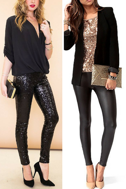 Thursday Inspiration: Top Sequin Outfits.