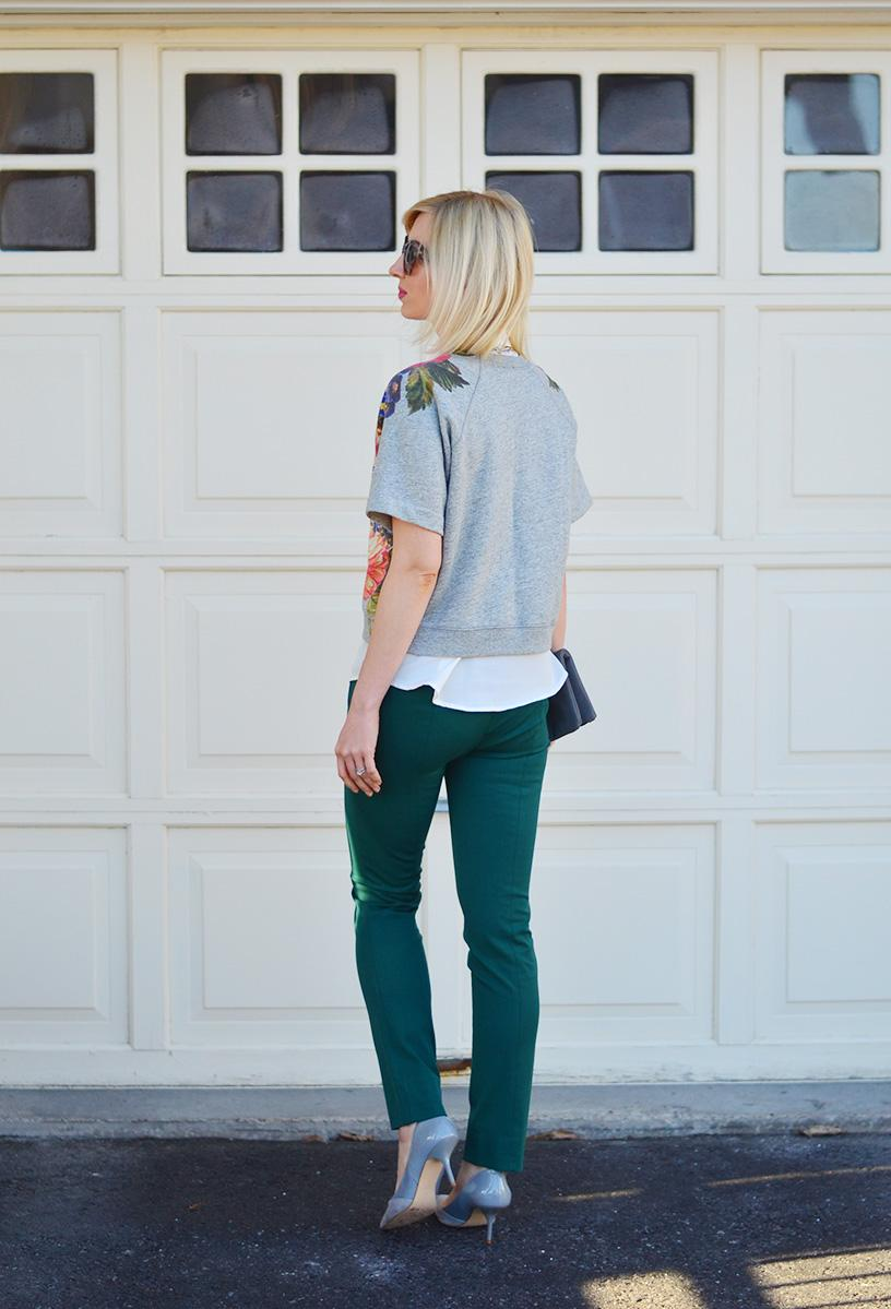 jcrew green pants