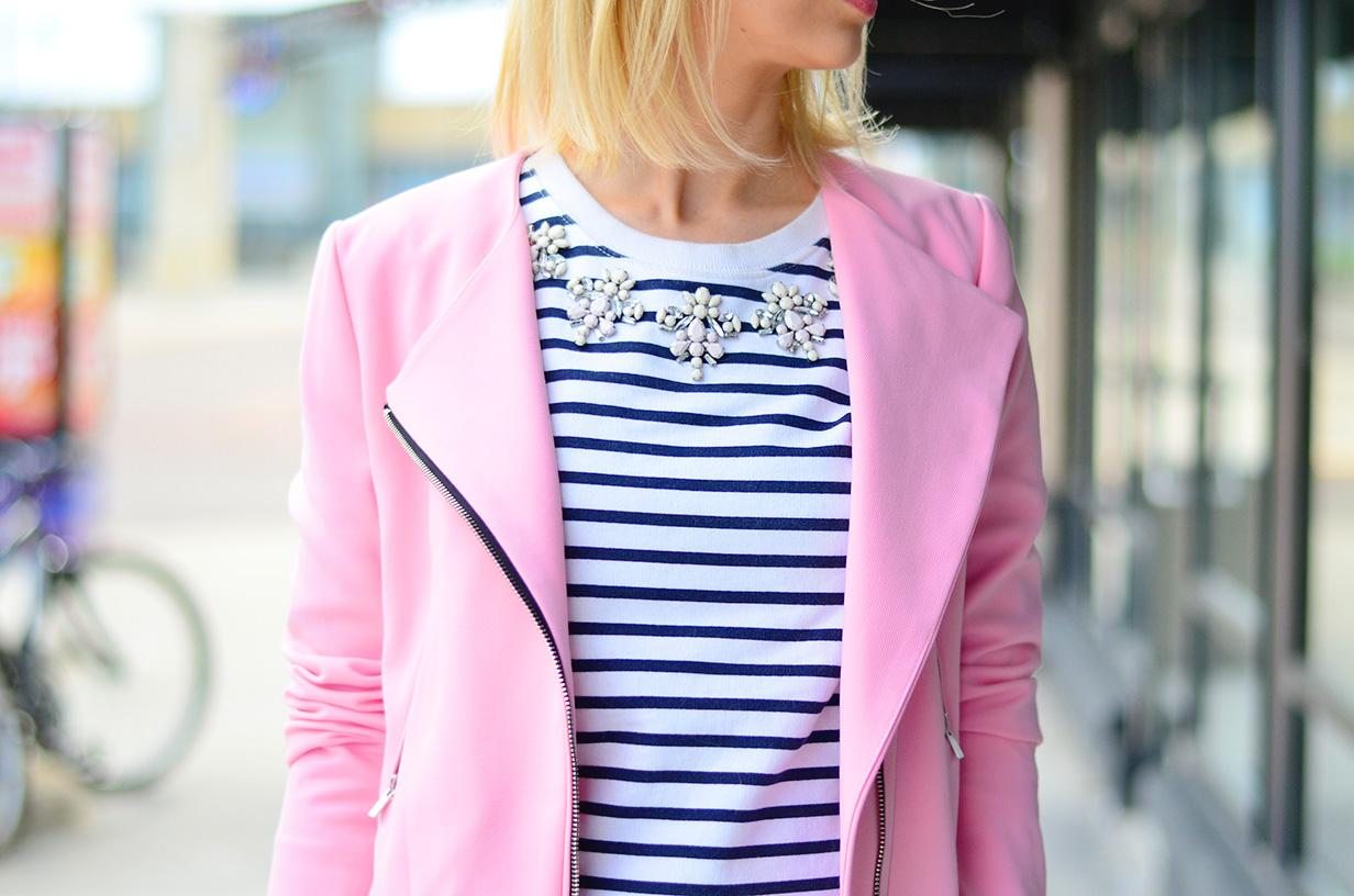 stripe top for spring