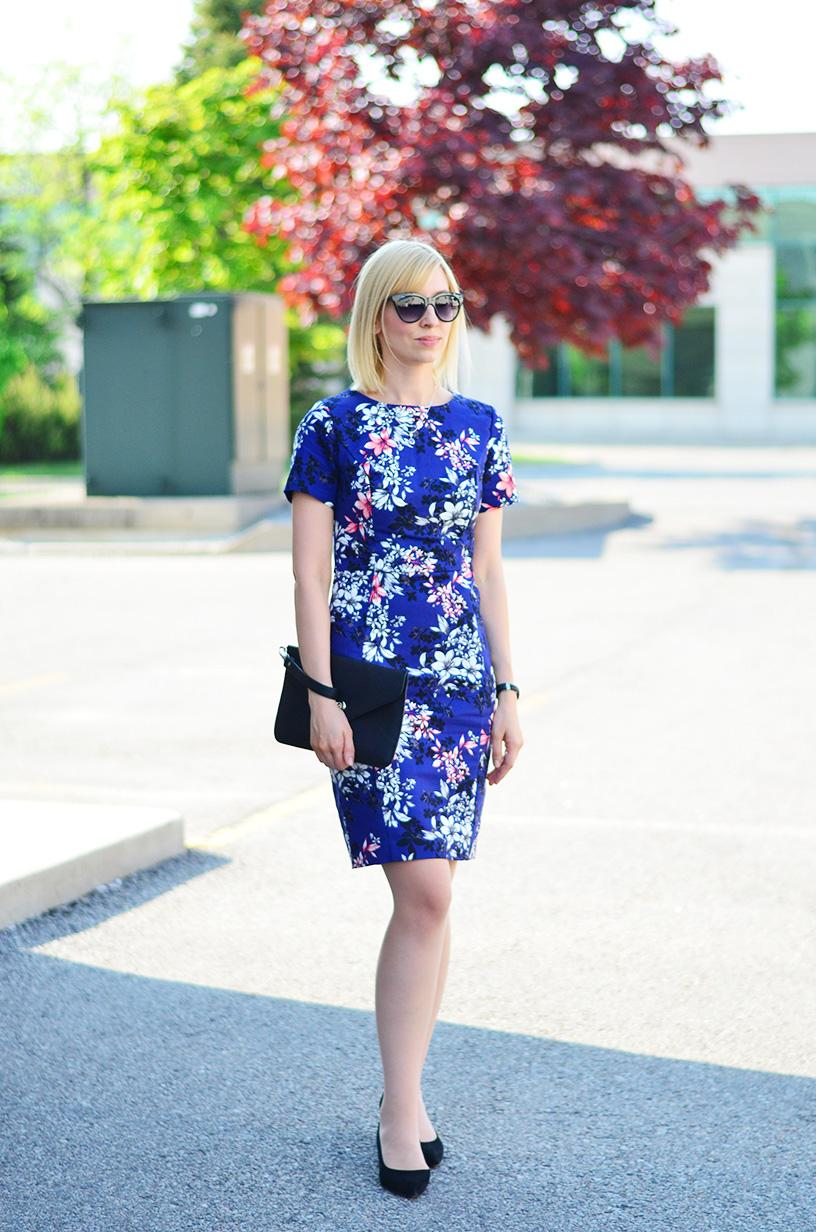 floral dress canada