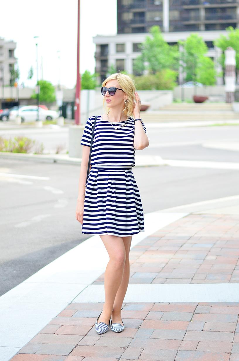 summer stripe dress style